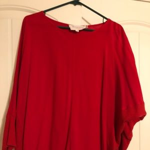 Two by Vince Camuto Red Blouse
